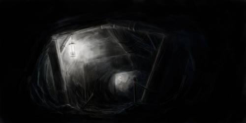 Mining tunnel by SPartanen