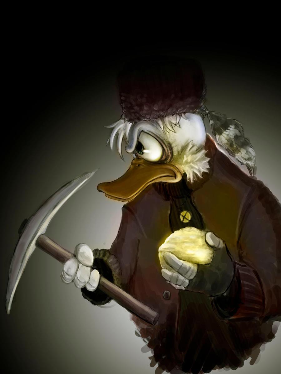 Scrooge McDuck's Determination by SPartanen
