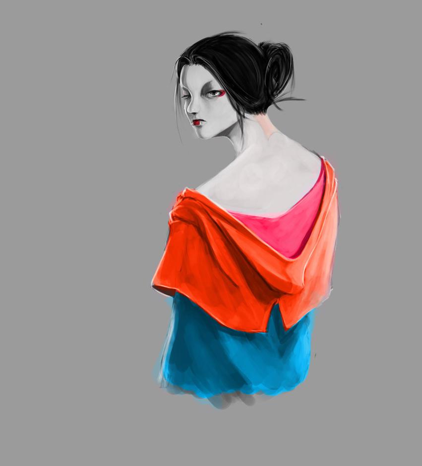Geisha by SPartanen