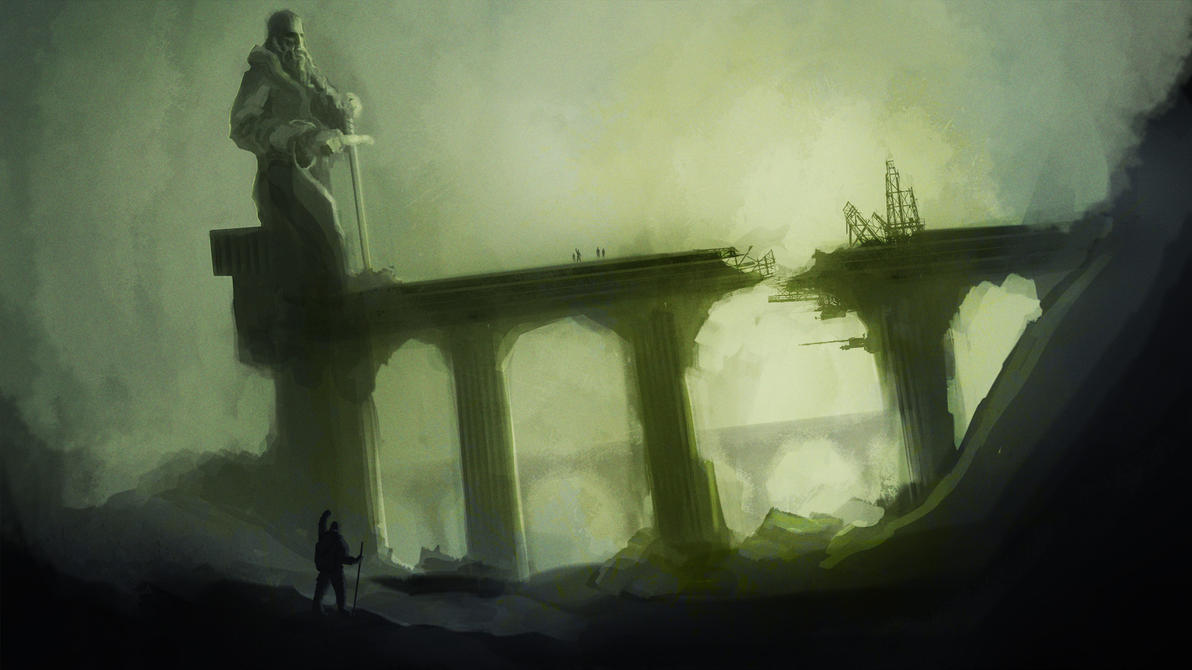 Back to the old gods - lunch painting by SPartanen