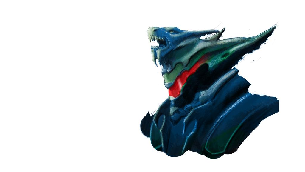 dragon helmet by SPartanen