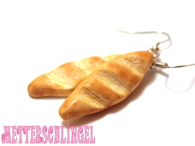 Baguette Earrings by Metterschlingel