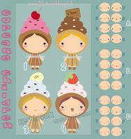 Adoptable Cupcake Children CLOSED by Metterschlingel