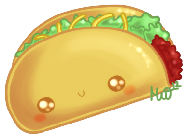 cute taco by metterschlingel on deviantart