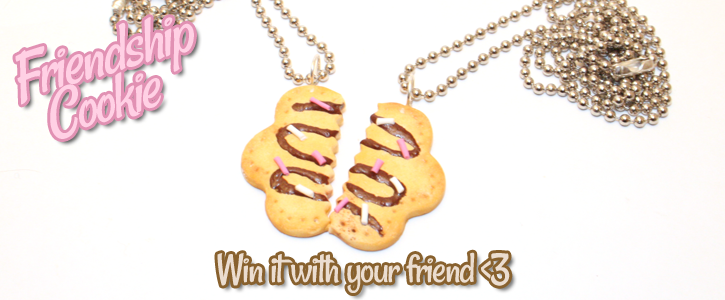 Win Friendshop Cookie Necklaces by Metterschlingel