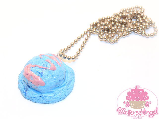 Ice Cream Necklace by Metterschlingel