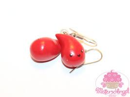 Cute Blood Drop Earrings