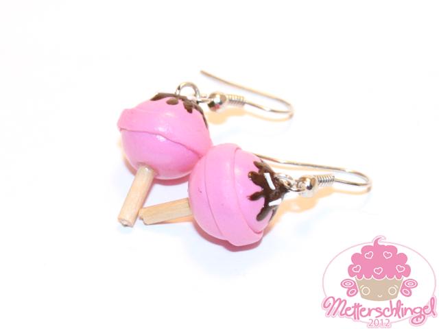 Lollipop Earrings by Metterschlingel