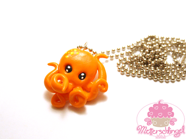 Customizable Octopus Necklace by Metterschlingel