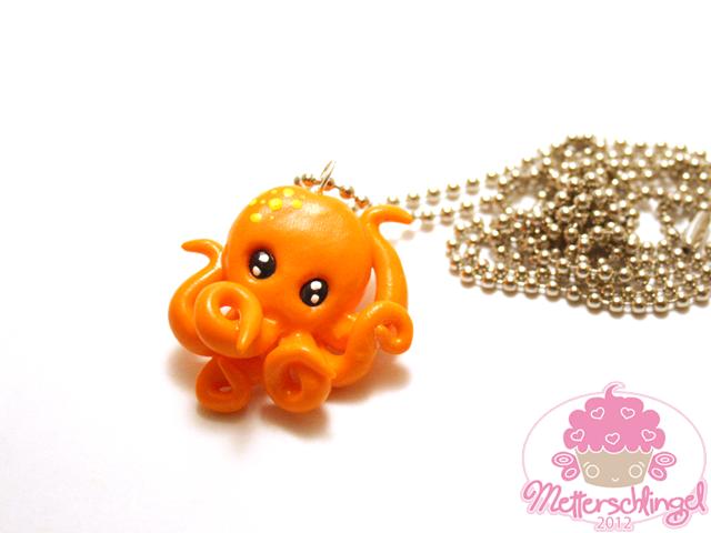 Customizable Octopus Necklace by Metterschlingel