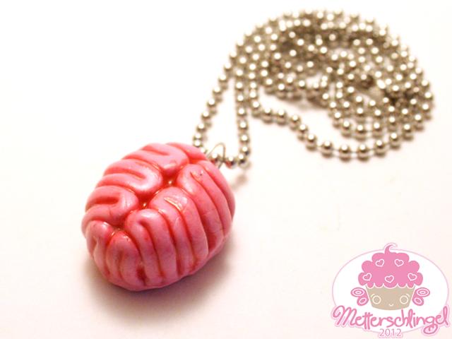 Brain Necklace by Metterschlingel