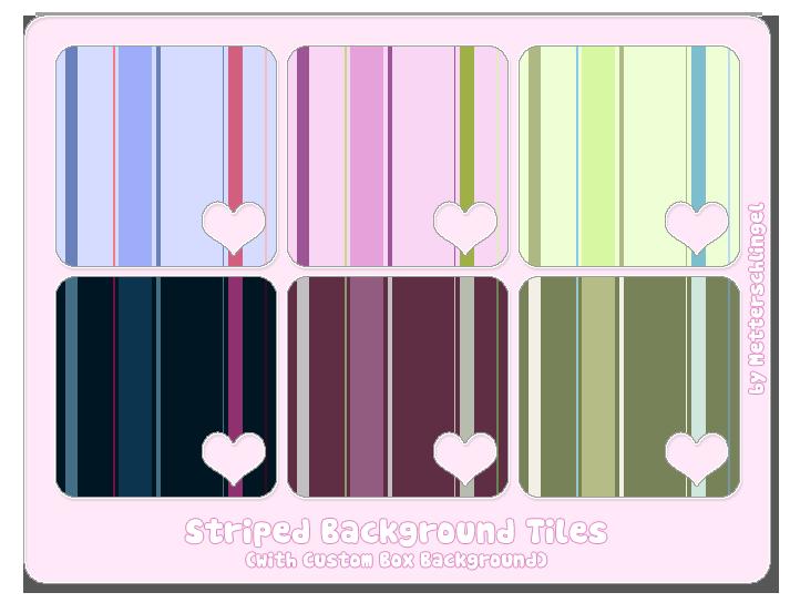 Striped Background Tiles by Metterschlingel
