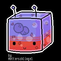 Custom Jello-Cubee SparkleFox789 by Metterschlingel