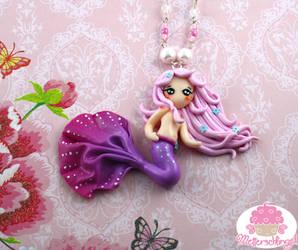 Mermaid Necklace by Metterschlingel