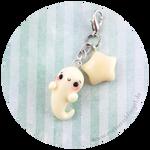 Cute Ghost Charm