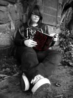 Reading Edgar Allan Poe by musicismylife2010