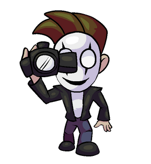 HorrorVale Character Art - Mask Guy