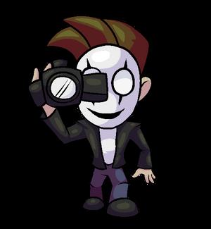 HorrorVale Character Art - Mask Guy