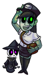 HorrorVale Character Art - Shelby