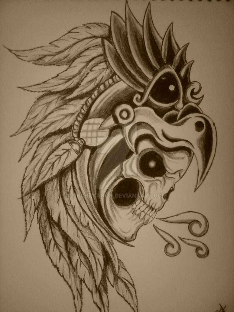 Caballero Aguila Skull By Rockrkanon On Deviantart