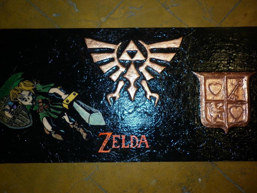 the legend of zelda by rockrkanon