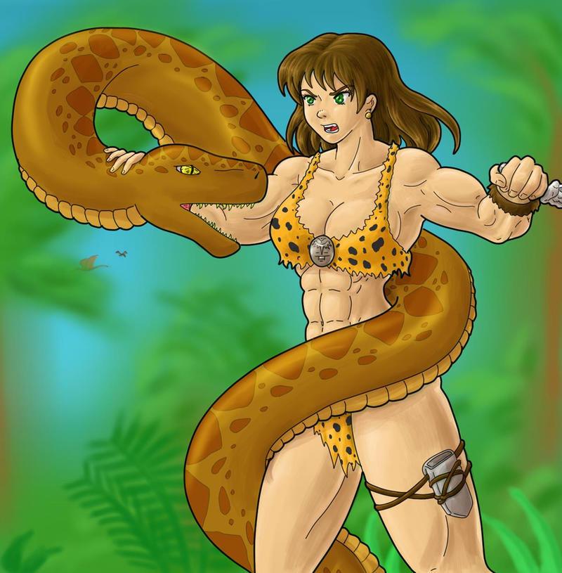 Original Jungle Girl Remaster by tj-caris