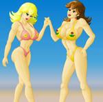 Princesses Peach and Daisy