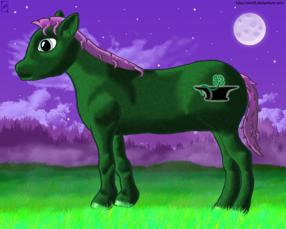 Fukano Pony OC by Streifi