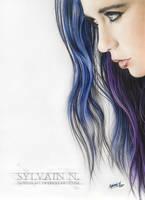 Bleu Girl by SMidnighT
