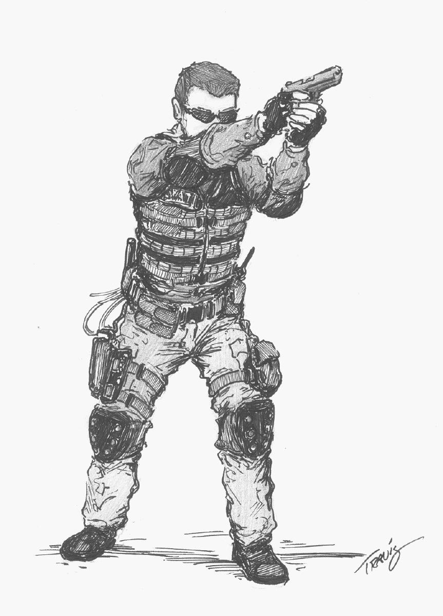 Image Gallery Swat Drawings