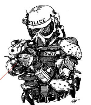 Tactical SWAT Officer