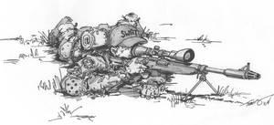 SWAT Team Sniper - original