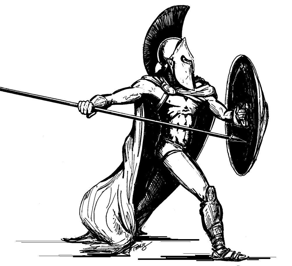 achilles coloring pages | Achilles, Hero of the Trojan War! A Greek Warrior Concept ...