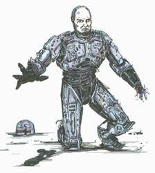 RoboCop Damaged original by angelfire7508