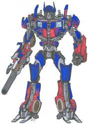 Optimus Prime - original by angelfire7508