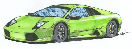 Lamborghini Murcielago by angelfire7508