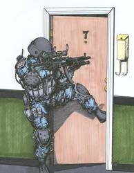 SWAT Door Entry - original by angelfire7508