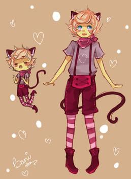 oc cat boy