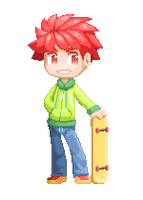 Pixel boy by miyu96