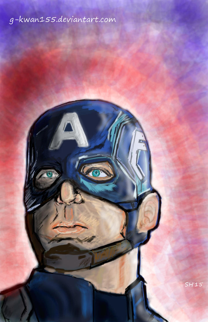Captain America by g-kwan155