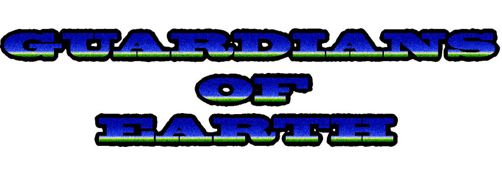 Guardians of Earth Logo Test one by g-kwan155