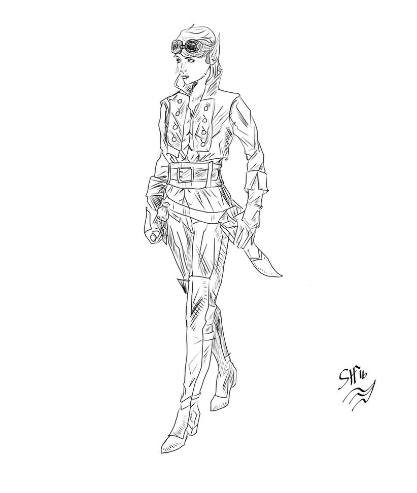 Lenna Concept Art for Project Valhalla by g-kwan155