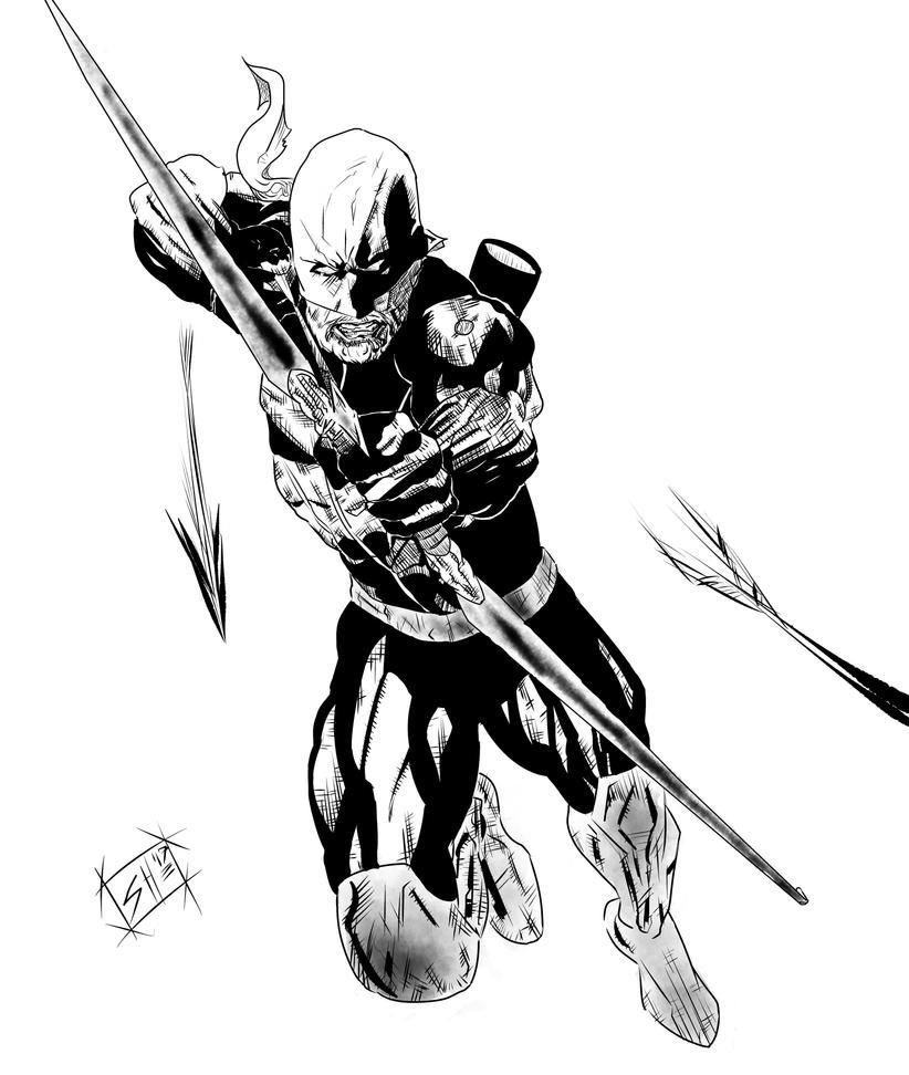 Black Arrow by g-kwan155
