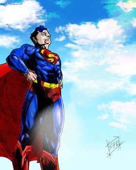 Superman Hope (colors)