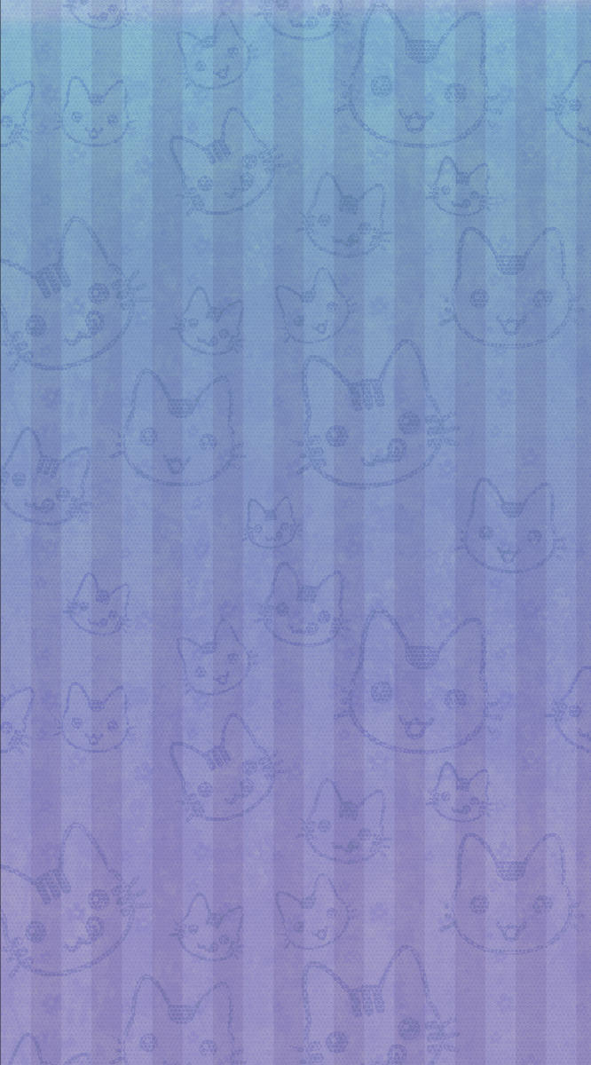 free custom BG box blue purple kitty by SChan