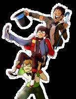 Draw My Squad Voltron Style by DancingRainbowLlama