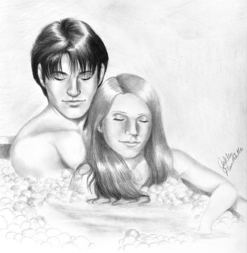 harry ginny and some bubbles by shley77 on DeviantArt