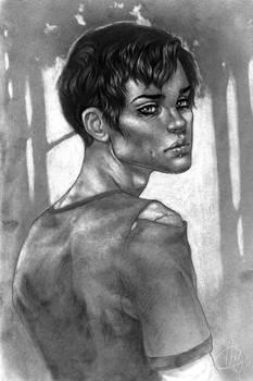 PBN character portrait: Jamie