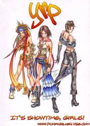 YRP: It's Showtime, Girls by funkyalien