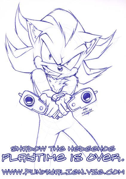 Shadow sketch by funkyalien